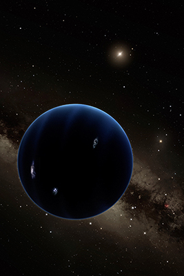 planet nine, planet 9, solar system, space, science fiction