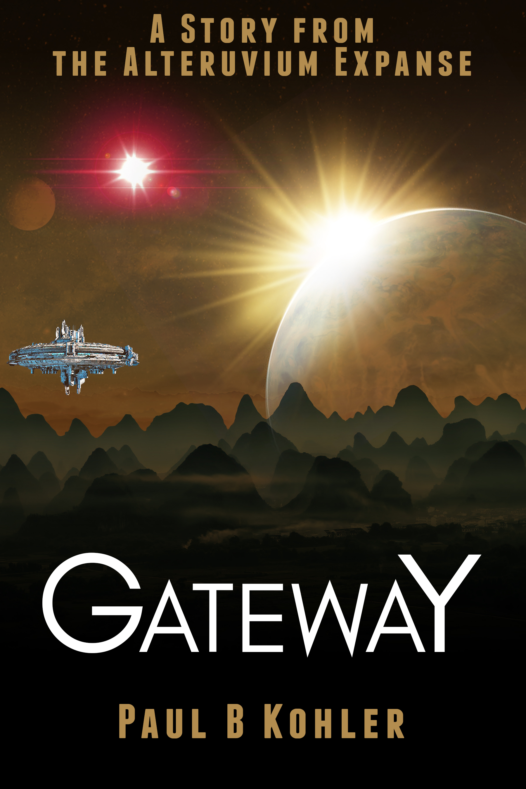 alteruvium expanse, gateway, sci-fi, short story, paul b kohler