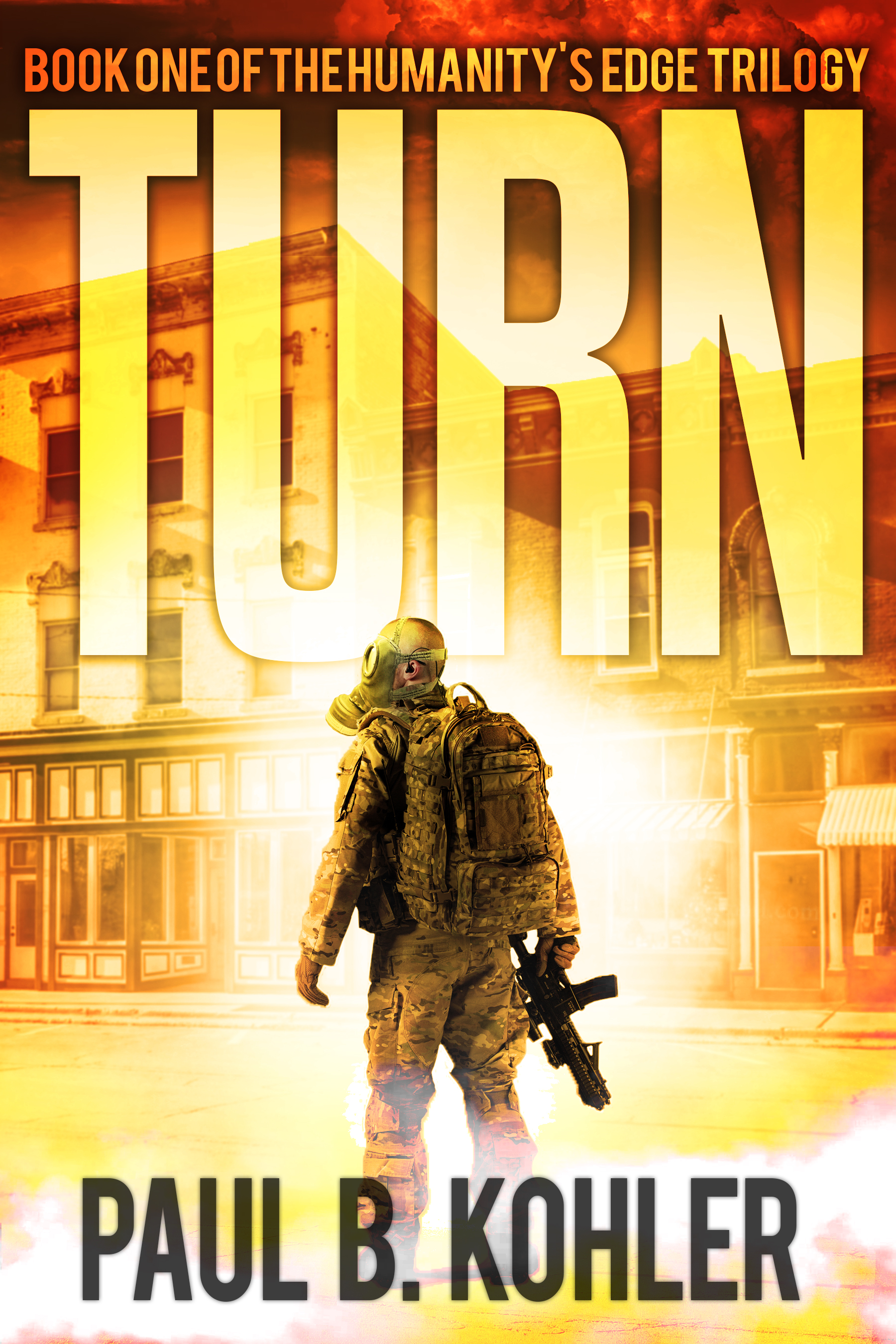 Turn, Clay Dobbs, Zombies, genetic engineering, humanity's edge, sci-fi book